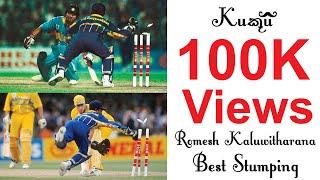 Romesh-Kaluwitharana-Best-Stumping