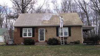 Non Pressure Asbestos Roof Cleaning in Lititz, PA