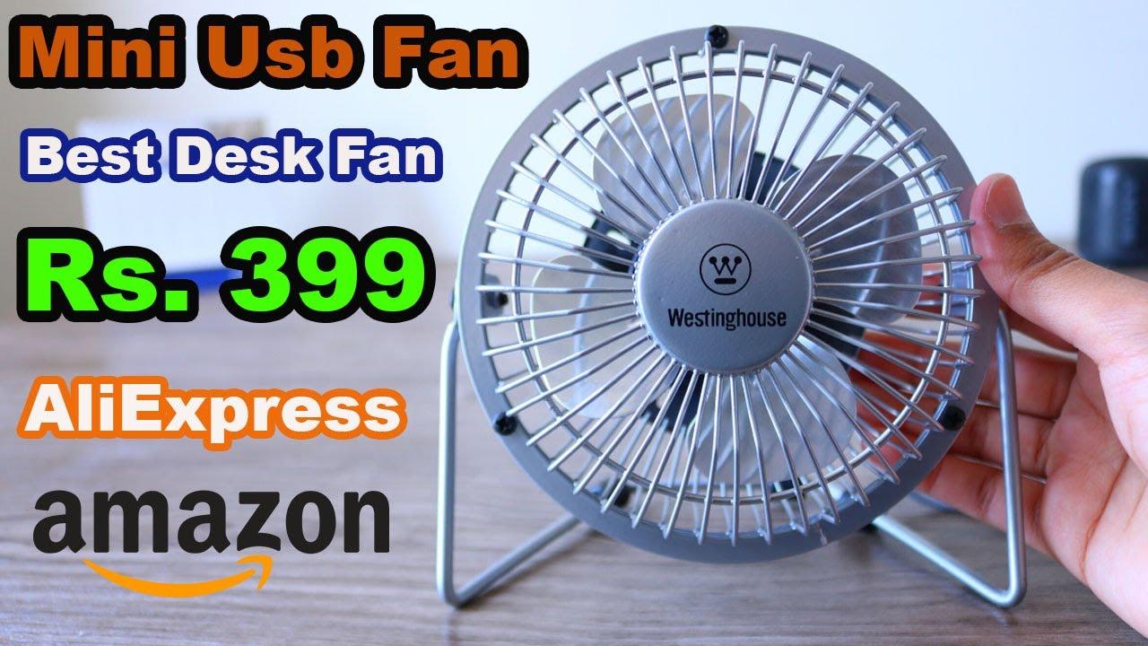 Mini USB Desk Fan Review - Mini Fan Review/Unboxing - AliExpress, Amazon, Daraz.pk | Unbox Heaven