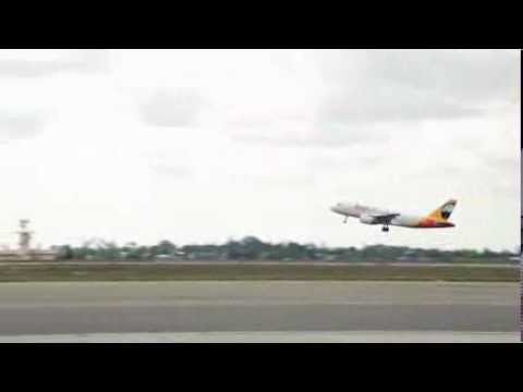 Inaugural fastjet international flight FN201 takes off from JNIA 18.10.13