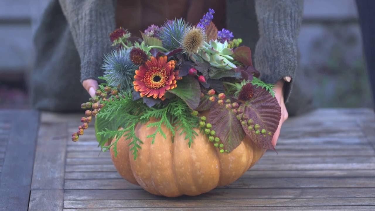 Pumpa - pumpkin decoration - gör en fantastisk egen dekoration med ... 5dee071b2f361