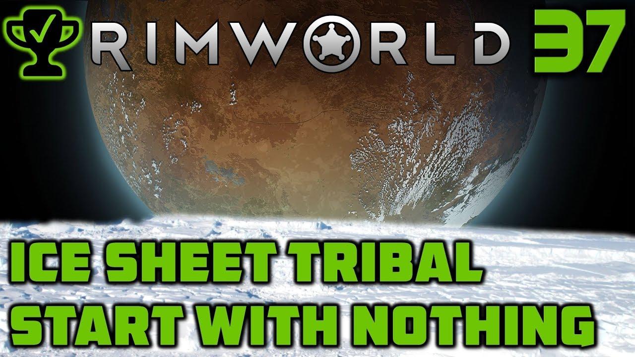 Caravan & Base Defense - Rimworld Ice Sheet Tribal Ep  37