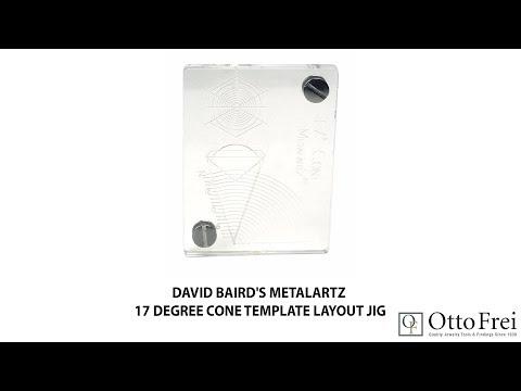 David Baird's Metalartz 17 Degree Cone Template Layout Jig