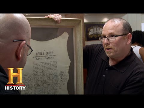 Pawn Stars: SELLER UPSET By Low Appraisal of Autograph (Season 13) | History
