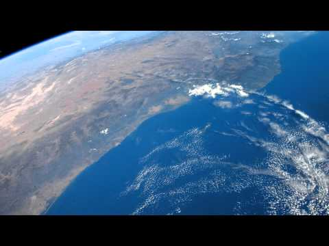 The west coast of North America seen from Space