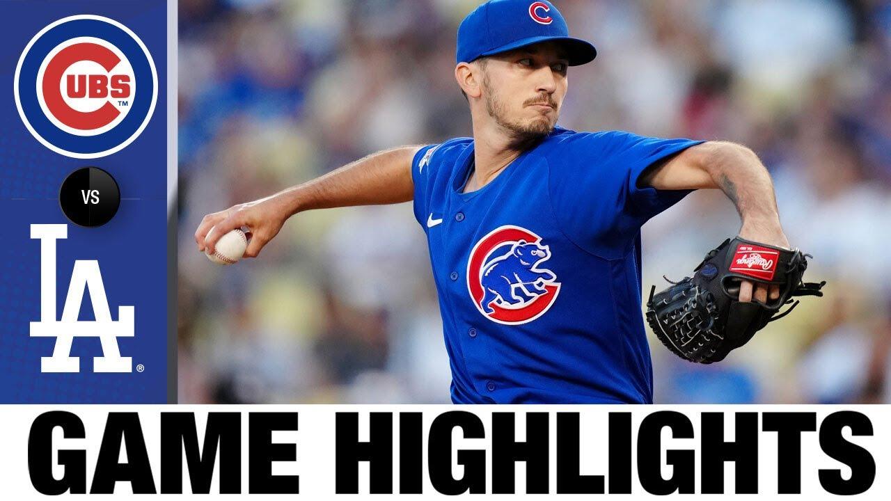 Cubs vs. Dodgers Game Highlights (6/24/21)   MLB Highlights