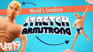 How stretchy is a tiny Stretch Armstrong?