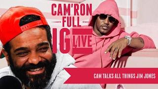 Cam'ron FULL IG Live (response to Jim Jones)