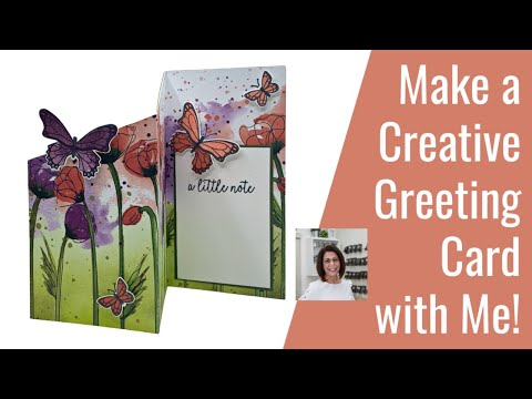 🔴Make a Creative Greeting Card with a Unique Slant