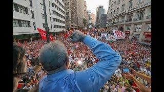 As inúteis tentativas do judiciário e da mídia brasileiro de tentar silenciar o Lula.