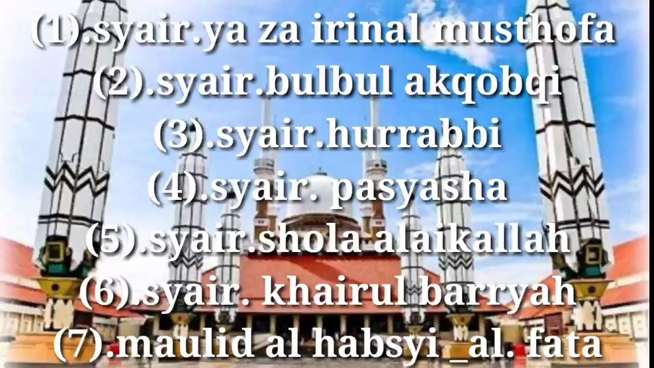 Kumpulan Syair-syair Al Habsyi Mp3