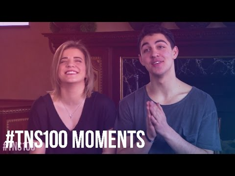 #TNS100 Moments - 64. Brittany & Trevor's TNS Live Movie Interview and Duet