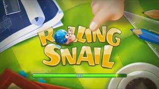 rolling snail funny physics based puzzle game iq challenge