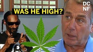 Former Speaker John Boehner Is Really Into Marijuana