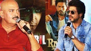 Shahrukh Khan's STRONG REPLY To Rakesh Roshan - Kaabil Vs Raees On 25th Jan 2016