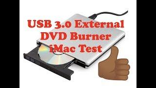 GRAVEUR EXTERNE iMac 15 EUROS le test