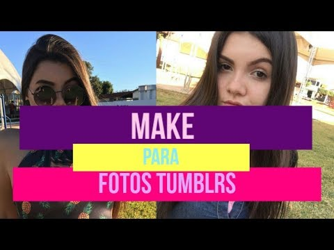 MAKE INSPIRADA NAS TUMBLR GIRLS