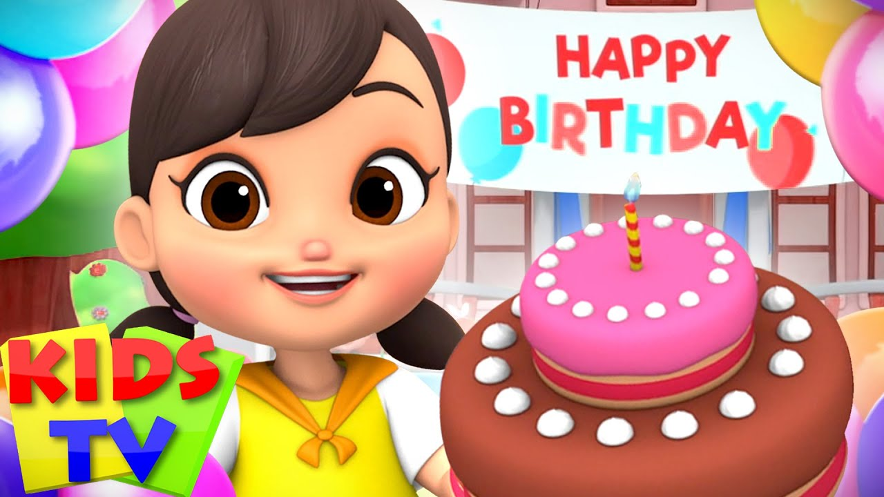 Happy Birthday Song | Boom Buddies Cartoons | Nursery Rhymes & Baby Songs - Kids Tv