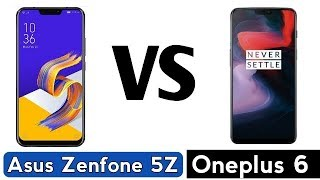 Asus Zenfone 5Z Vs Oneplus 6 Comparison - Which Is Better ? | My Opinions (Hindi)
