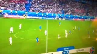 Skrót meczu Francja - Islandia