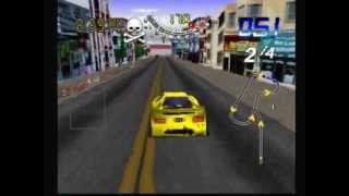 San Francisco Rush PS1 Gameplay