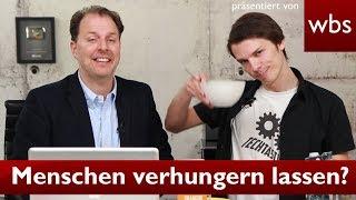 Darf ich mich zu Tode hungern? - Mit TechTastisch | Rechtsanwalt Christian Solmecke