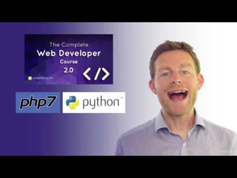 The Complete Web Developer Course 2.0 - HTML, PHP, PYTHON, MYSQL