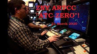 New York ARTCC Shutdown 21 March 2020