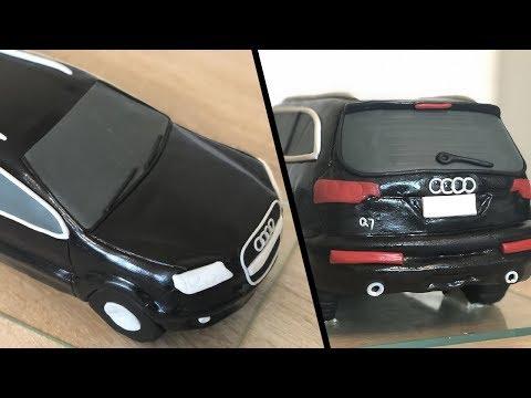 AUDI Q7 CAR | FONDANT CAKE