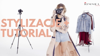 STYLIZACJE + TUTORIAL ♡ London Look z Rimmel
