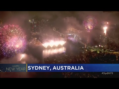 New Year's Celebrated Around The Globe