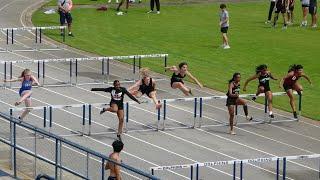 2021 Andrews Invitational Track Meet - Girl's 100M Hurdles - 3/26/2021
