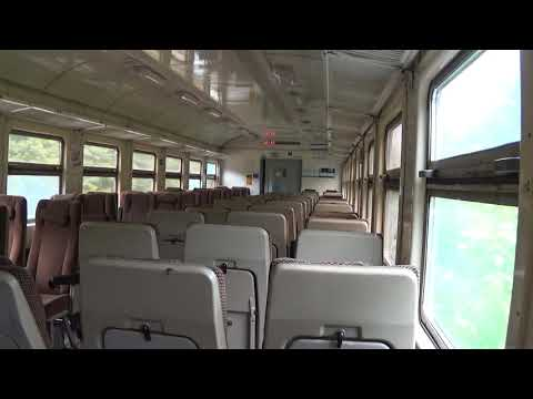 Поездка в бывшем Тульском экспрессе ЭД4МК-0112 по БМО