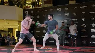 UFC 224: Kelvin Gastelum Open Workout Highlights - MMA Fighting