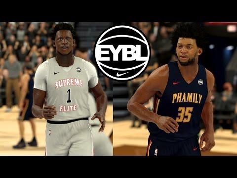 3edd4128b NBA 2K17 - Nike EYBL - Supreme Elite vs. Nike Phamily - High School Hoops