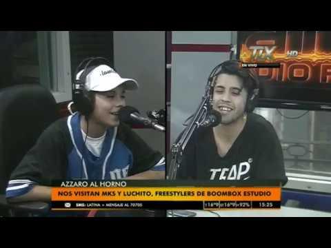 LUCHITO & MKS en #AzzaroAlHorno @ Radio Latina