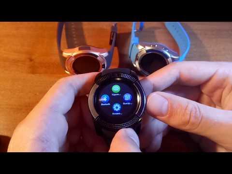 Смарт-Часы Smart Watch V8 Обзор