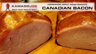 Kamado Joe Applewood Smoked Canadian Bacon