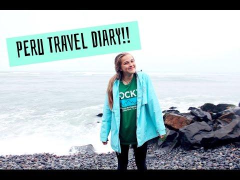 Peru travel diary 2016!!