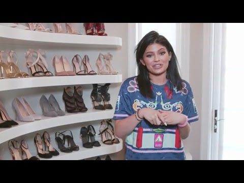 Kylie Jenner Gives Digital Tour of Her Closets On New Phone App