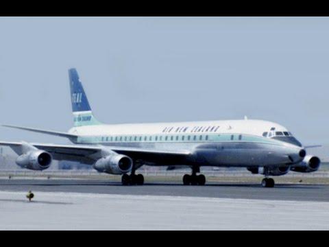 "Air New Zealand Douglas DC-8-52 - ""Take-off, Cruise & Landing"" - 1965"