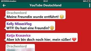DRACHENLORD BRAUCHT HILFE! | YouTuber in einer WhatsApp Gruppe