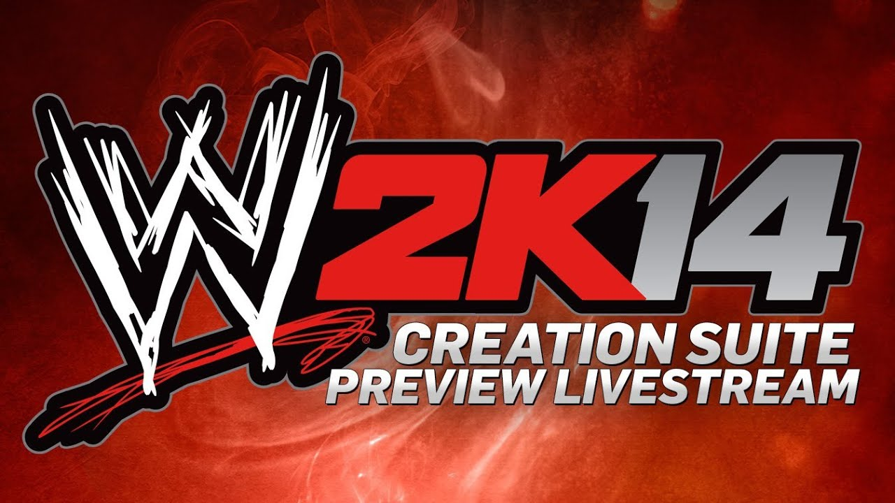 WWE 2K14 Creation Suite Preview Livestream Official