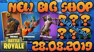 Fortnite Neuer Gegenstand Shop 28.08.2019 Fortnite ITEM SHOP Daily Shop August 28th New Skins