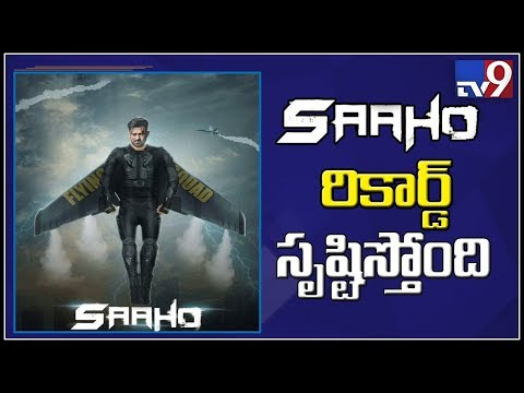 Prabhas' Saaho sets new record by raking in 36 Cr before release - TV9
