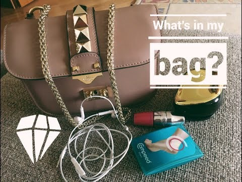 ЧТО В МОЕЙ СУМКЕ?/WHAT'S IN MY BAG? ЛЕТНЯЯ ВЕРСИЯ:)