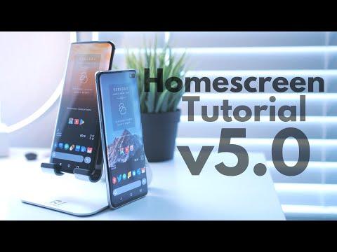 Homescreen Setup Tutorial V5.0! [Step By Step]