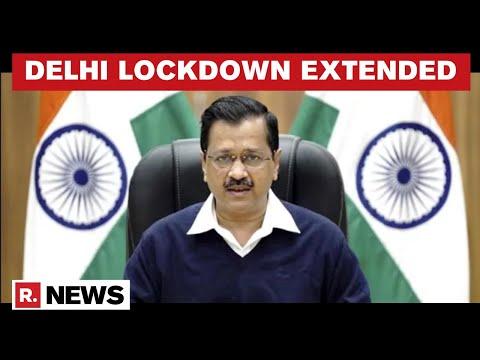 Delhi CM Extends Lockdown By One Week Amid Rising COVID-19 Cases & Acute Oxygen Shortage