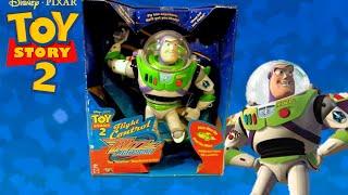toy story 2 1999 buzz lightyear flight control toy review