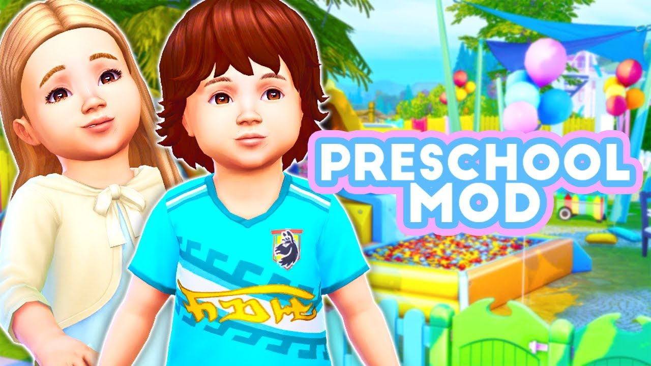 Sims 4 Toddler Stroller Mod Preschool Mod The Sims 4 Mod Overview Your Toddlers Can Go To Preschool